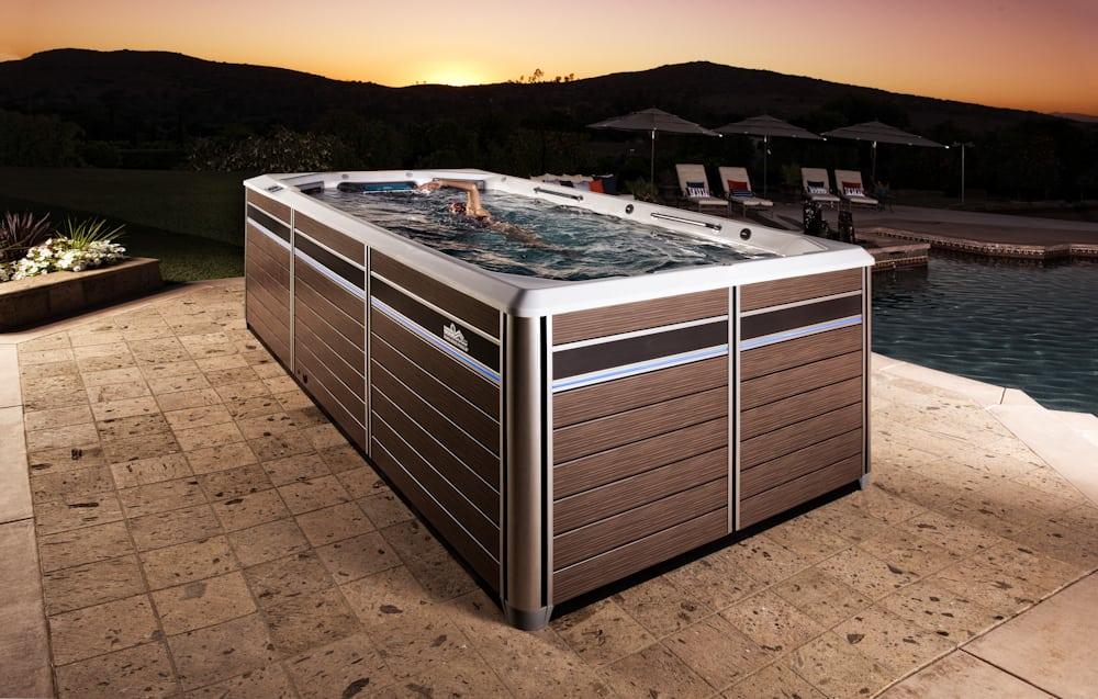 Swim Spa Gallery - Richards Total Backyard Solutions