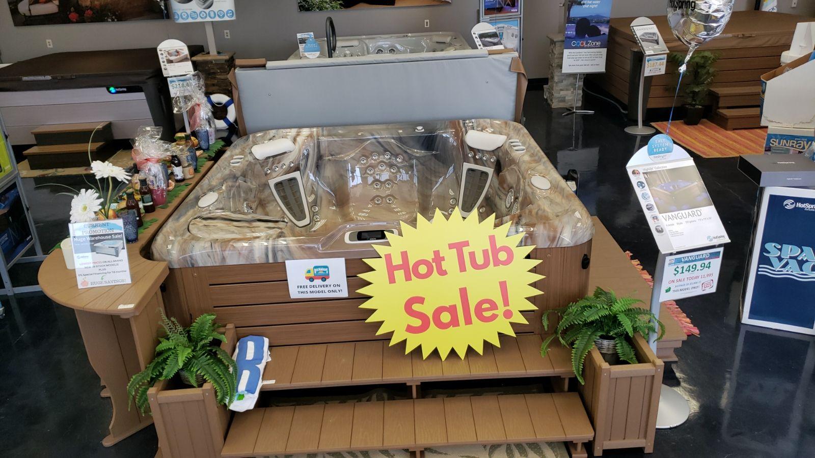 Hot Tub Remodel Sale - Richards Total Backyard Solutions