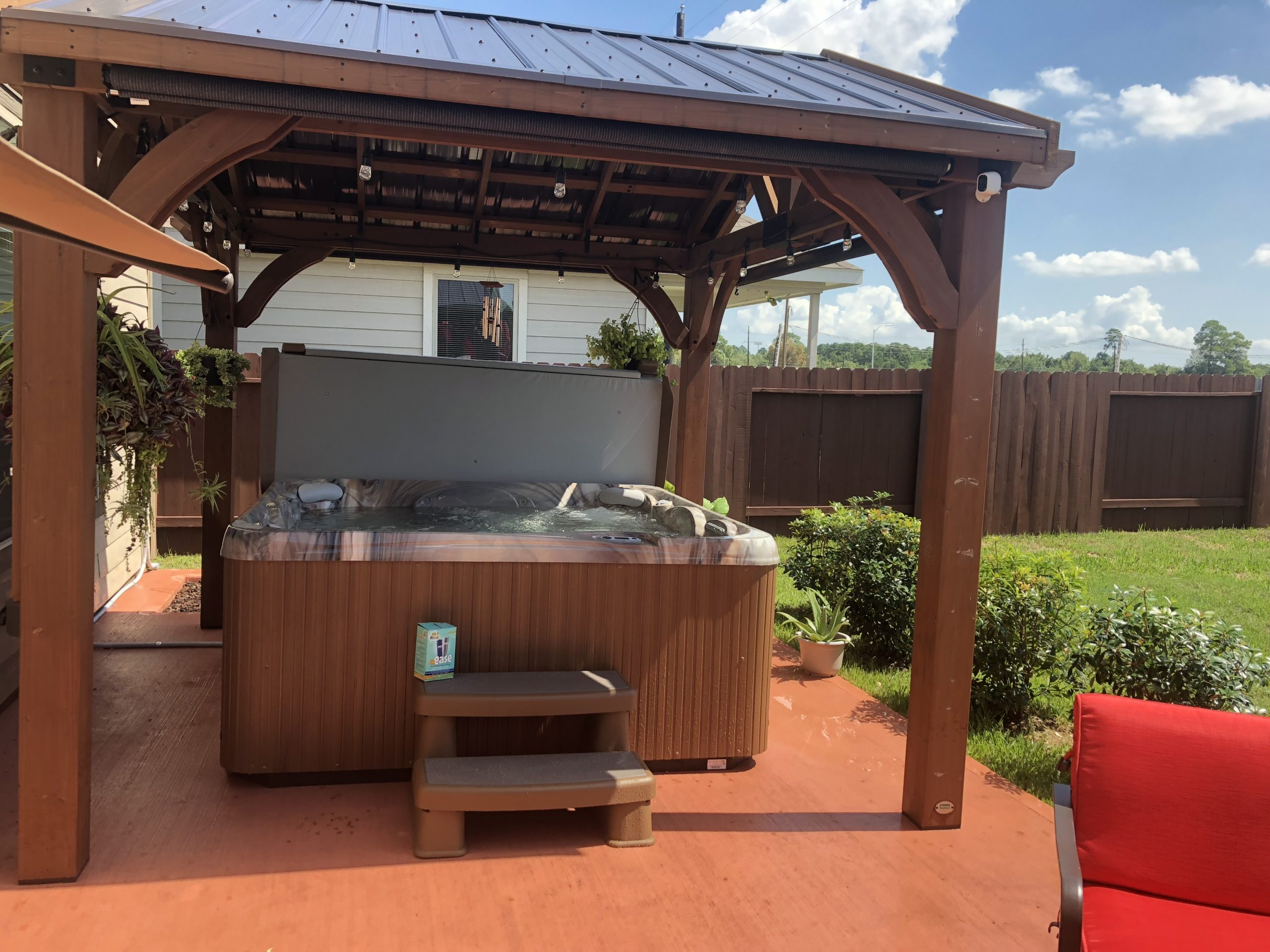 Hot tubs gallery - Richards Total Backyard Solutions
