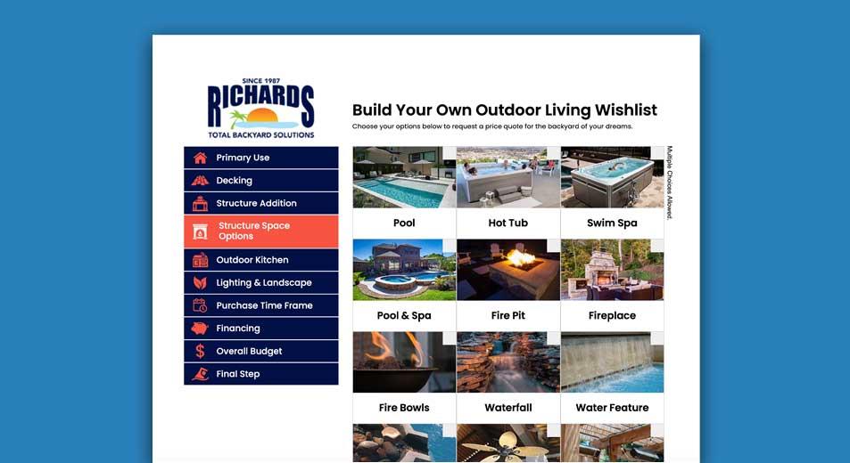 Outdoor Living Wishlist