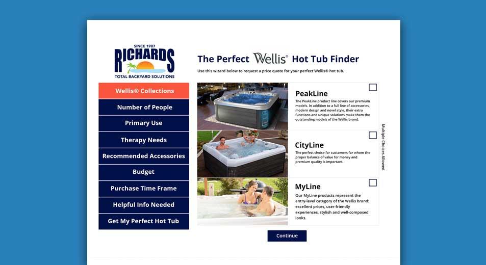 Wellis Hot Tub Finder